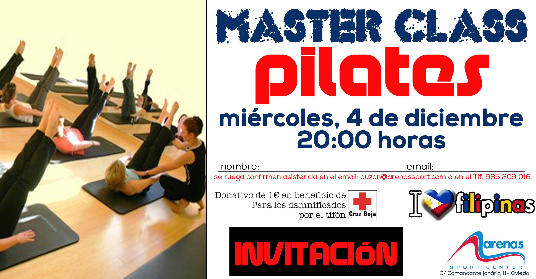 INVITACION MASTER CLASS Pilates