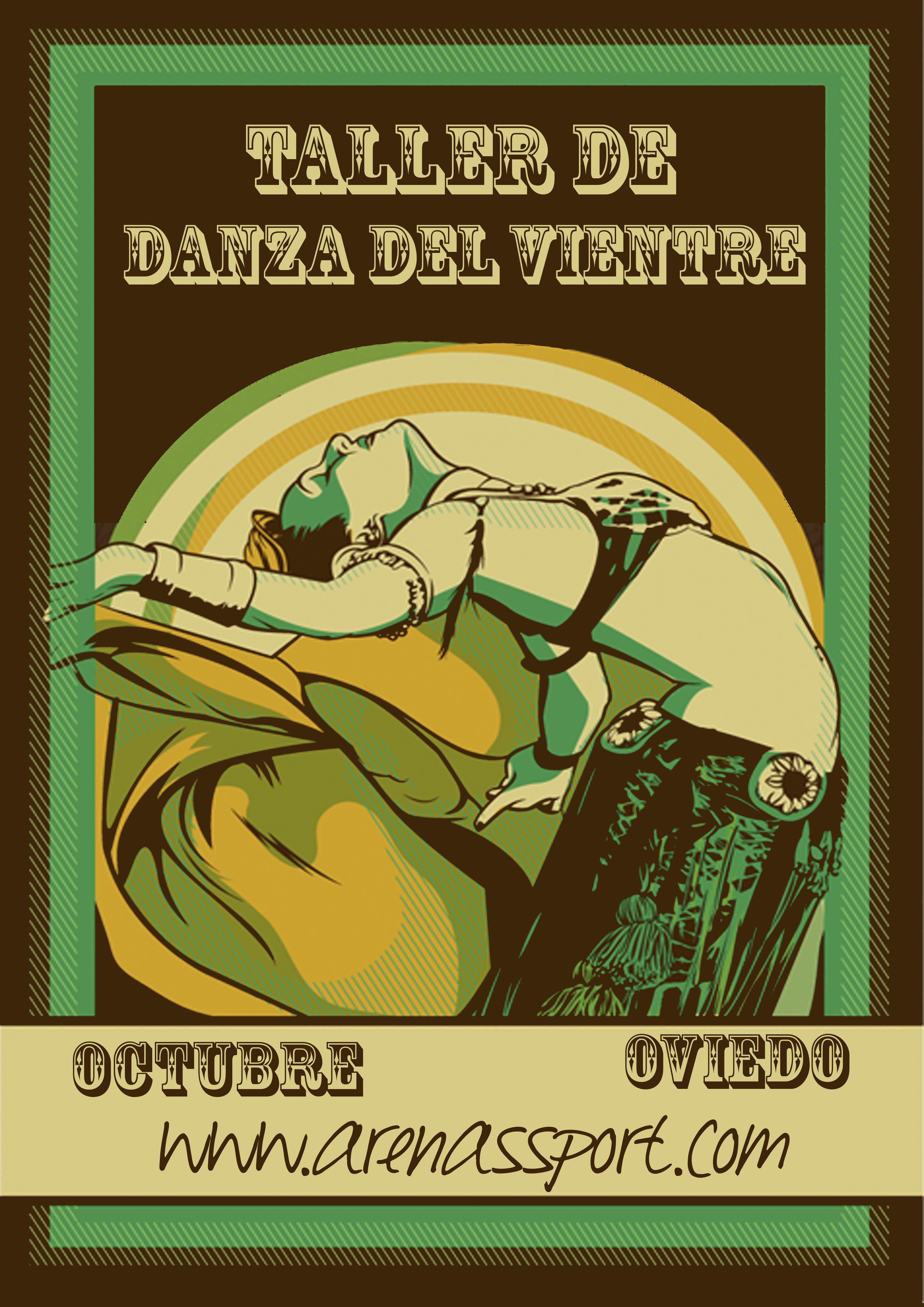 Cartel DANZA DEL VIENTRE2