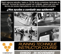 CURSOS TÉCNICO DE INSTRUCTOR DE RUNNING
