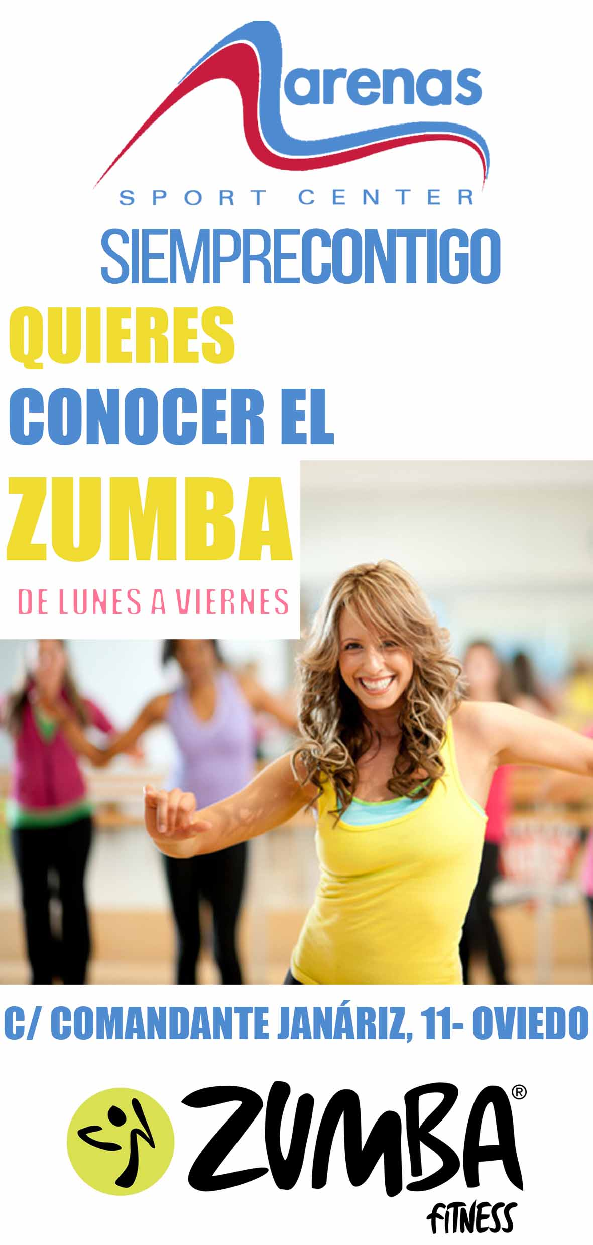 LANDING PAGES ZUMBA