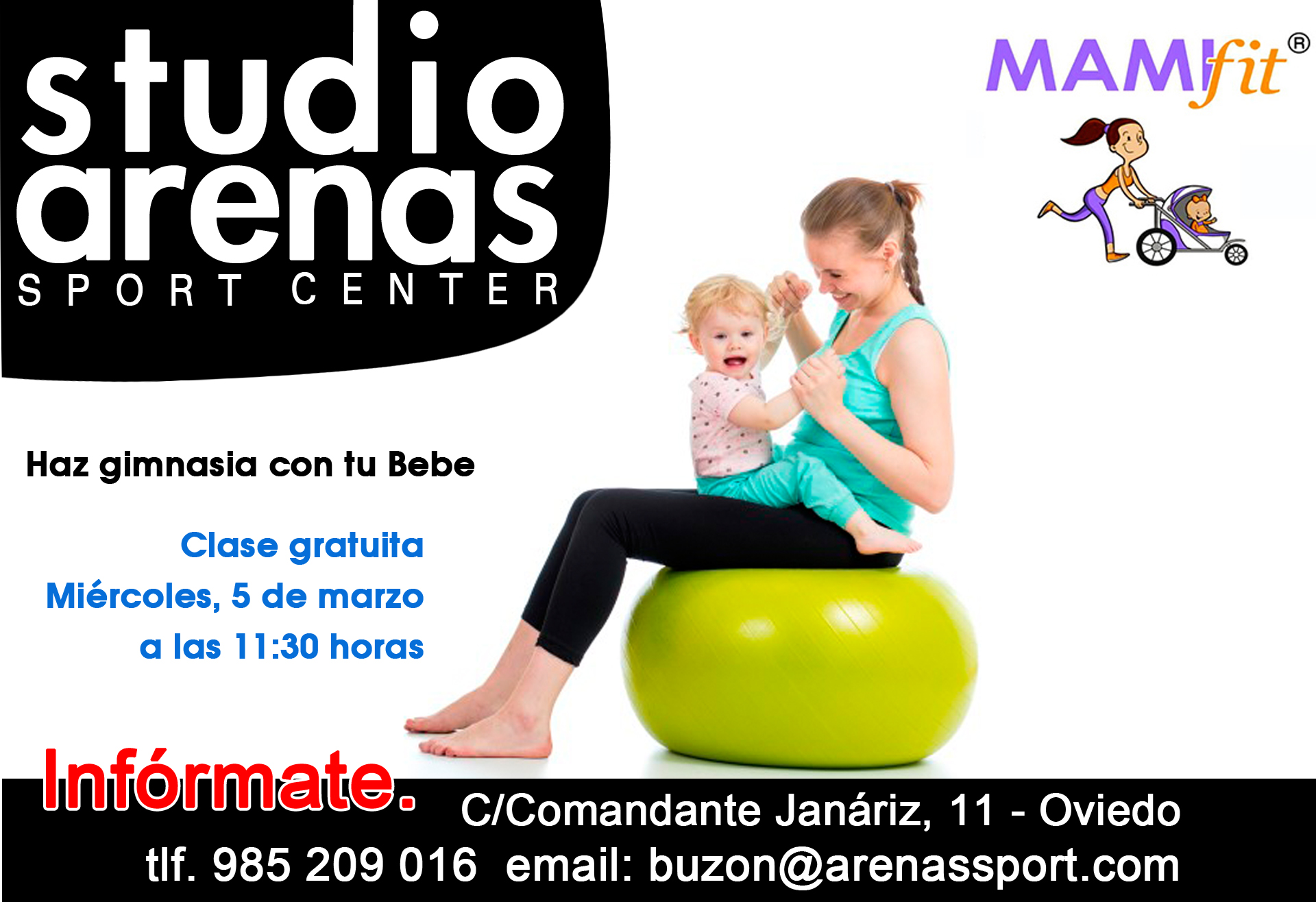 Clases con Bebes, Mamifit