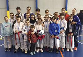 12 medallas para el CD Arena en los Campeonatos Escolares (Zona centro)