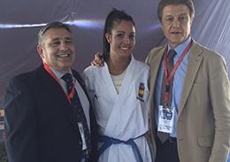 Angel Arenas regresa de Egipto con 2 medallas, en la última prueba del Circuito mundial de karate