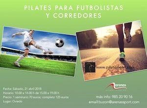 Pilates para Futbolistas y Corredores